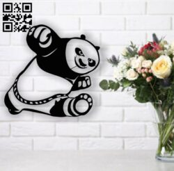 Kung fu panda E0013660 file cdr and dxf free vector download for cnc cut plasma