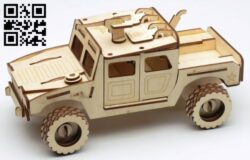 Military vehicle  E0013655 file cdr and dxf free vector download for laser cut