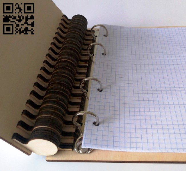 Notepad a5 E0013512 file cdr and dxf free vector download for laser cut