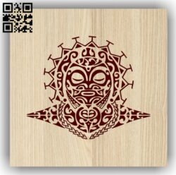 Tribe E0013506 file cdr and dxf free vector download for laser engraving machine