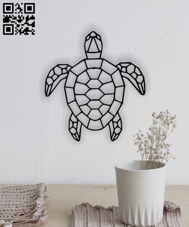 Turtle E0013647 file cdr and dxf free vector download for laser cut plasma