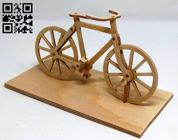 Bike E0013850 file cdr and dxf free vector download for laser cut