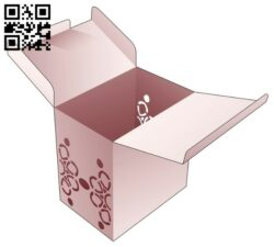 Box with mandala E0014044 file cdr and dxf free vector download for laser cut
