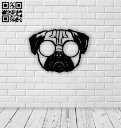 Bull dog E0014030 file cdr and dxf free vector download for laser cut plasma