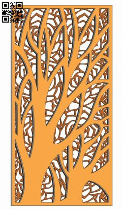 Design pattern screen panel E0013928 file cdr and dxf free vector download for laser cut cnc