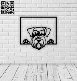 Dog E0014058 file cdr and dxf free vector download for laser cut plasma