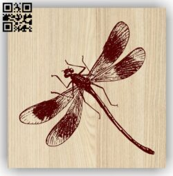 Dragonfly E0013759 file cdr and dxf free vector download for laser engraving machine
