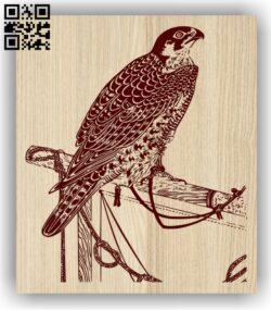 Eagle E0013949 file cdr and dxf free vector download for laser engraving machine