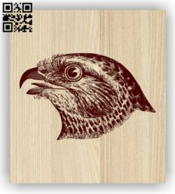 Eagle head E0013951 file cdr and dxf free vector download for laser engraving machine