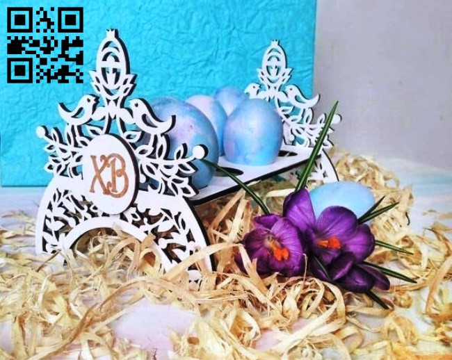 Easter stand E0013734 file cdr and dxf free vector download for laser cut