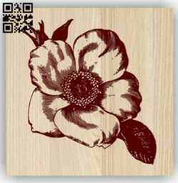 Five-pointed flower E0013757 file cdr and dxf free vector download for laser engraving machine
