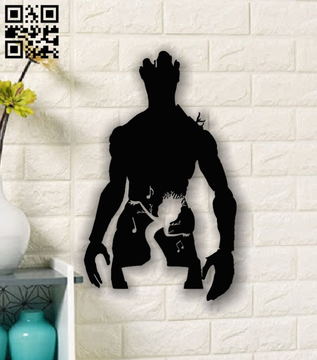 Groot E0013738 file cdr and dxf free vector download for cnc cut plasma