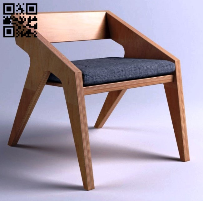 Hank stool E0013736 file cdr and dxf free vector download for laser cut