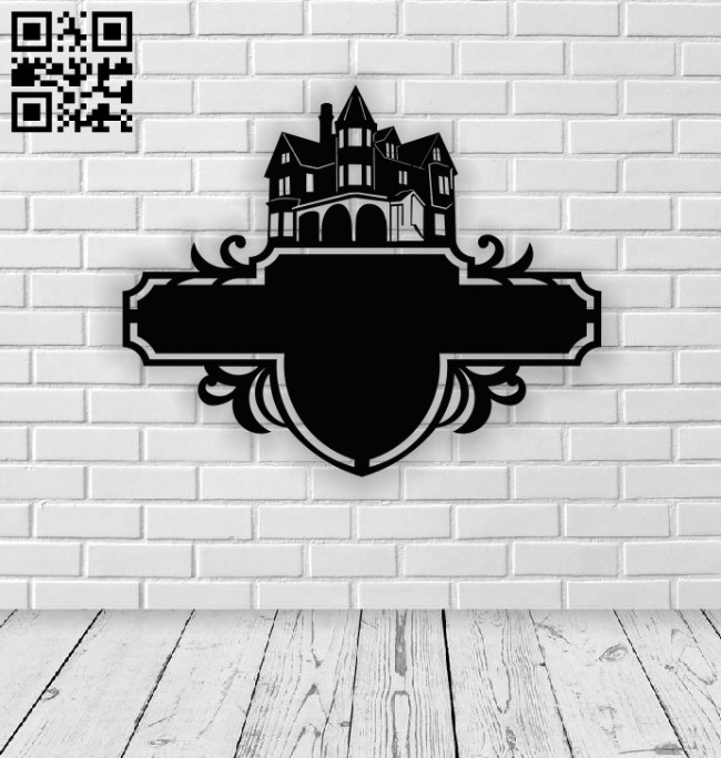 House address table E0013908 file cdr and dxf free vector download for laser cut plasma
