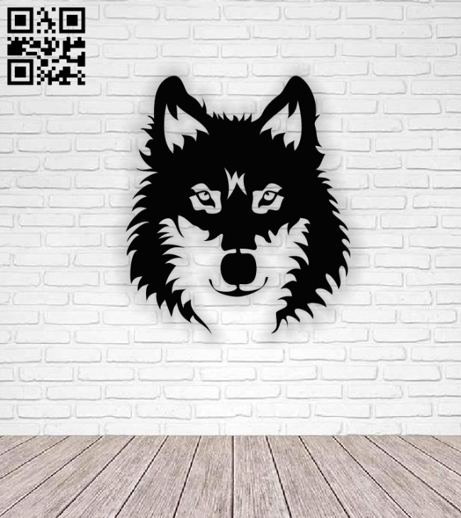 Husky dog E0013963 file cdr and dxf free vector download for laser cut plasma
