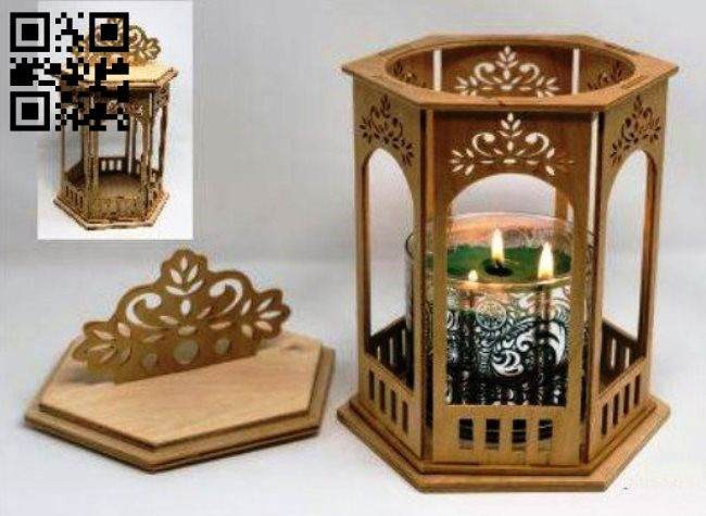 Lantern E0013851 file cdr and dxf free vector download for laser cut