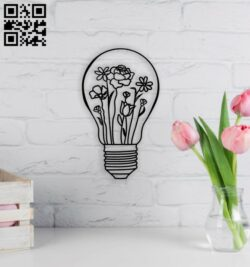 Light wall decor E0014062 file cdr and dxf free vector download for laser cut plasma