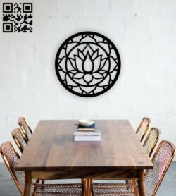 Manlada wall decor E0013886 file cdr and dxf free vector download for laser cut plasma