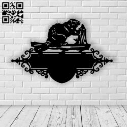 Mouse address table E0013988 file cdr and dxf free vector download for laser cut plasma