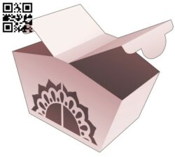 Opening point box E0014046 file cdr and dxf free vector download for laser cut