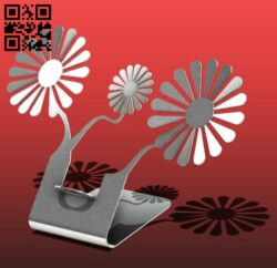 Phone stand E0013904 file cdr and dxf free vector download for laser cut plasma