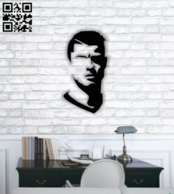 Ronaldo E0013822 file cdr and dxf free vector download for laser cut plasma