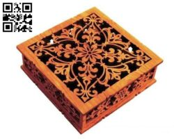 Surprise box E0013933 file cdr and dxf free vector download for laser cut