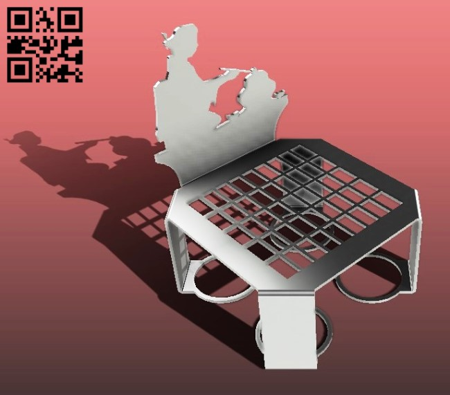 Tea pot stand E0013905 file cdr and dxf free vector download for laser cut plasma