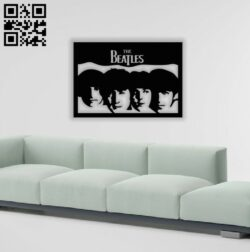 The beatles E0013795 file cdr and dxf free vector download for laser cut plasma