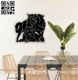 Wolfs E0013892 file cdr and dxf free vector download for laser cut plasma