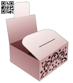 Bakery box with mandala E0014306 file cdr and dxf free vector download for laser cut