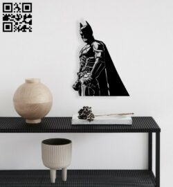 Batman wall decor E0014327 file cdr and dxf free vector download for laser cut plasma