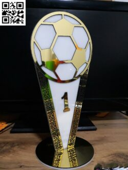 Championship Cup E0014146 file cdr and dxf free vector download for laser cut
