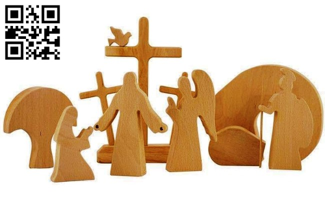 Easter E0014108 file cdr and dxf free vector download for laser cut