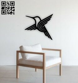Flying bird E0014278 file cdr and dxf free vector download for laser cut plasma