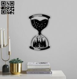 Hourglass E0014374 file cdr and dxf free vector download for laser cut plasma