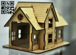 House E0014248 file cdr and dxf free vector download for laser cut