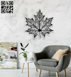 Leaf E0014357 file cdr and dxf free vector download for laser cut plasma