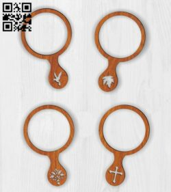 Mirror E0014131 file cdr and dxf free vector download for laser cut