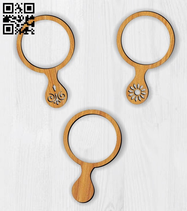 Mirror E0014132 file cdr and dxf free vector download for laser cut