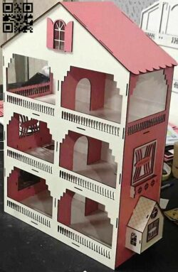 Play house E0014347 file cdr and dxf free vector download for laser cut