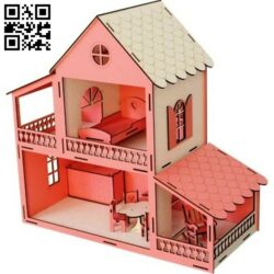Play house E0014389 file cdr and dxf free vector download for laser cut