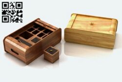 Reception box E0014391 file cdr and dxf free vector download for laser cut