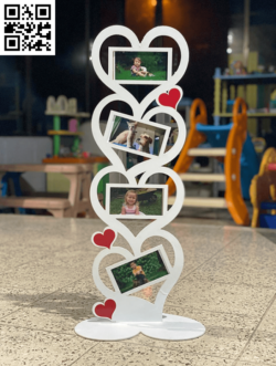 Tower heart for photo E0014252 file cdr and dxf free vector download for laser cut