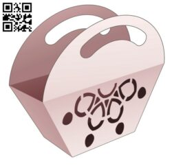 Trapezoid bag E0014237 file cdr and dxf free vector download for laser cut