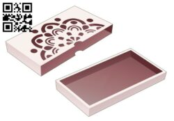 Tray box  E0014236 file cdr and dxf free vector download for laser cut
