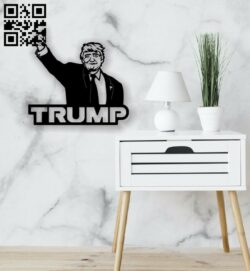 Trump E0014211 file cdr and dxf free vector download for laser cut plasma