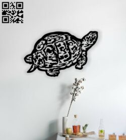Turtle E0014162 file cdr and dxf free vector download for laser cut plasma