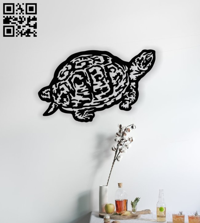 Turtle E00141612 file cdr and dxf free vector download for laser cut plasma