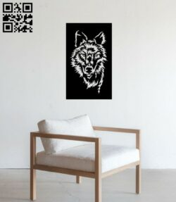 Wolf E0014240 file cdr and dxf free vector download for laser cut plasma